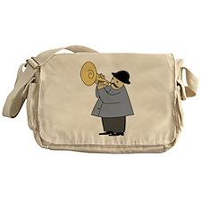 Trumpet Player Messenger Bag