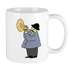 Trumpet Player Mugs