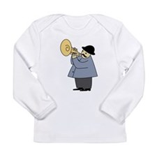 Trumpet Player Long Sleeve T-Shirt