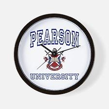 PEARSON University Wall Clock