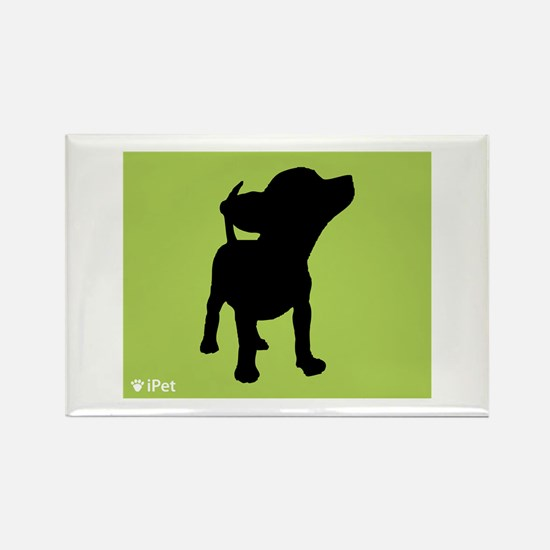 Chihuahua iPet Rectangle Magnet