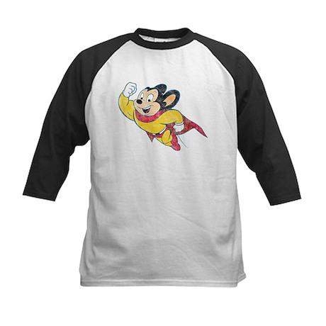 Vintage Mighty Mouse Kids Baseball Jersey