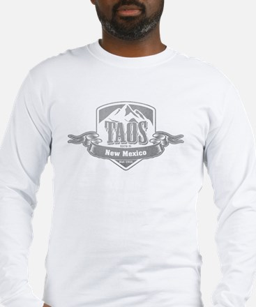Taos New Mexico Ski Resort 5 Long Sleeve T-Shirt