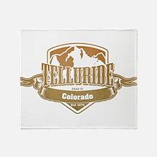 Telluride Colorado Ski Resort 4 Throw Blanket