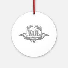 Vail Colorado Ski Resort 5 Ornament (Round)