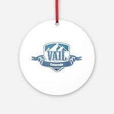 Vail Colorado Ski Resort 1 Ornament (Round)