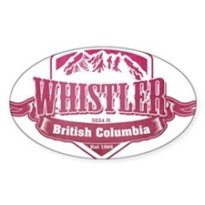 Whistler British Columbia Ski Resort 2 Decal