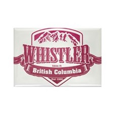 Whistler British Columbia Ski Resort 2 Magnets