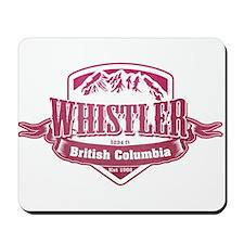 Whistler British Columbia Ski Resort 2 Mousepad