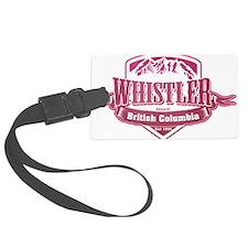 Whistler British Columbia Ski Resort 2 Luggage Tag