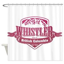 Whistler British Columbia Ski Resort 2 Shower Curt