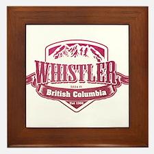 Whistler British Columbia Ski Resort 2 Framed Tile