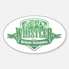Whistler British Columbia Ski Resort 3 Decal