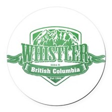 Whistler British Columbia Ski Resort 3 Round Car M