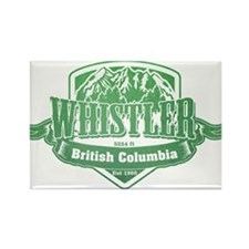 Whistler British Columbia Ski Resort 3 Magnets
