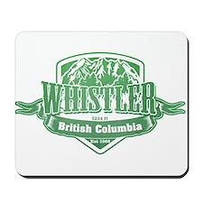 Whistler British Columbia Ski Resort 3 Mousepad