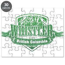 Whistler British Columbia Ski Resort 3 Puzzle