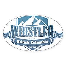 Whistler British Columbia Ski Resort 1 Decal