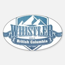 Whistler British Columbia Ski Resort 1 Decal