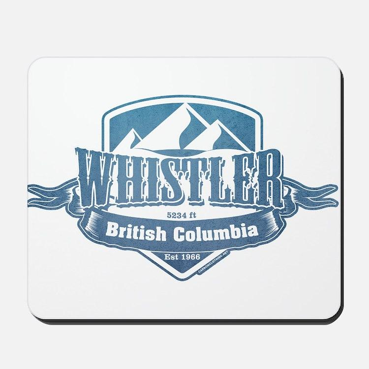 Whistler British Columbia Ski Resort 1 Mousepad