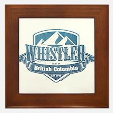 Whistler British Columbia Ski Resort 1 Framed Tile