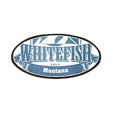 Whitefish Montana Ski Resort 1 Patches