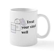 Respect the vinyl 3 Mugs