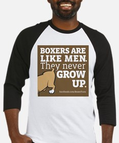 Boxer Dogs and Men Baseball Jersey
