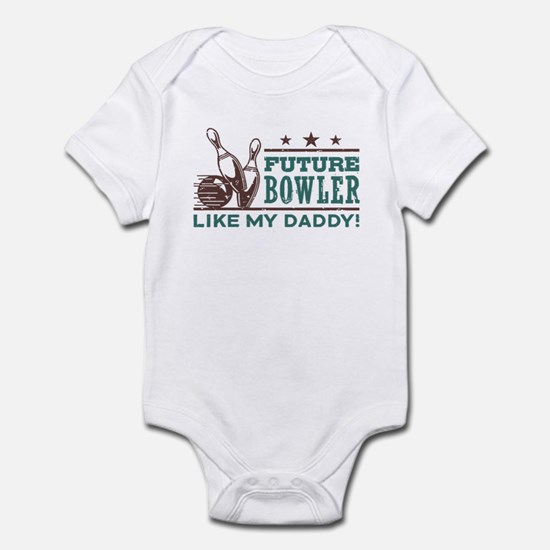 Future Bowler Like My Daddy Infant Bodysuit