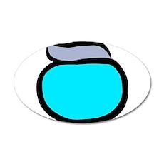 Blue Pacemaker Logo Wall Sticker