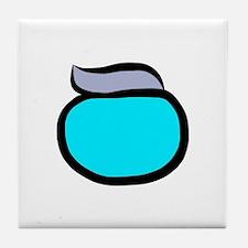 Blue Pacemaker Logo Tile Coaster