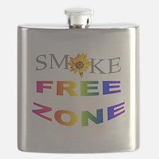 Smoke free zone Flask