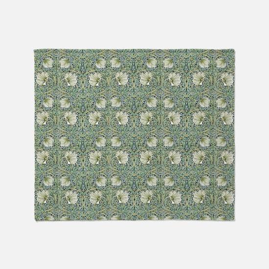 William Morris Pimpernel Throw Blanket