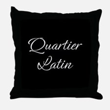 Quartier Latin Throw Pillow