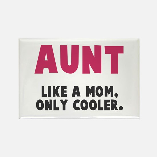 Cool Aunt Rectangle Magnet