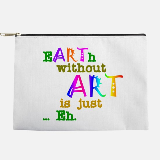 EarthWithoutArt Makeup Pouch