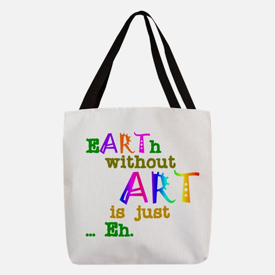 EarthWithoutArt Polyester Tote Bag
