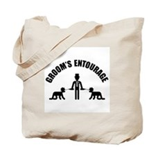 Groom's Entourage (Stag Party) Tote Bag