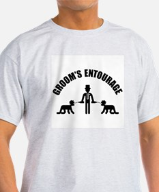 Groom's Entourage (Stag Party) T-Shirt