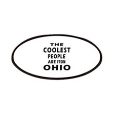 The Coolest People Are From Ohio Patches