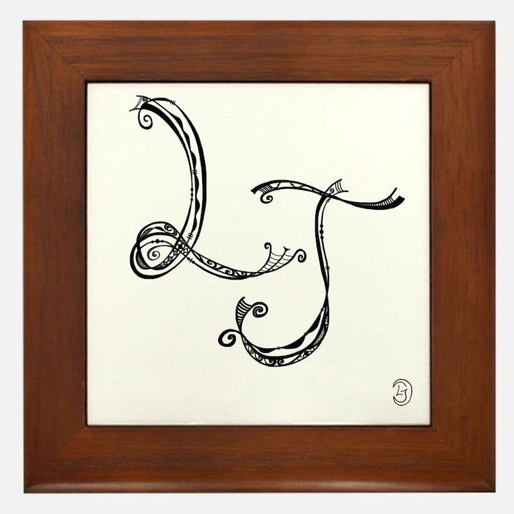 LJ Framed Tile