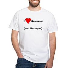 I love grammar and grampar Shirt