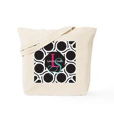 Modern and Elegant Monogram Tote Bag