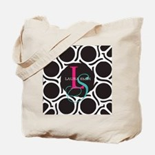 Modern and Elegant Monogram Tote Bag