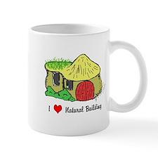I Heart Natural Building Mug