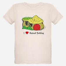 I Heart Natural Building T-Shirt