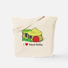 I Heart Natural Building Tote Bag