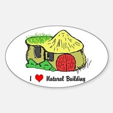 I Heart Natural Building Decal