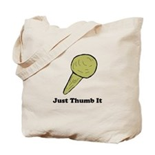 Just Thumb It Tote Bag