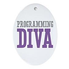 Programming DIVA Ornament (Oval)